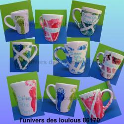 Tasses pour la fête des papy's 2014