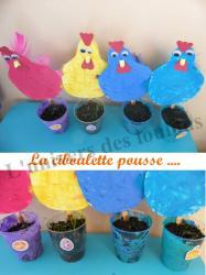 poules de paques 2012