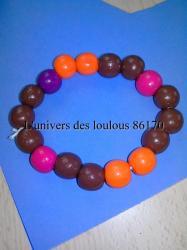 Bracelet fete des meres 2014 Léo 2 ans
